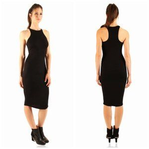"""""""Complete And Total Recall"""" Bodycon Midi Dress"""